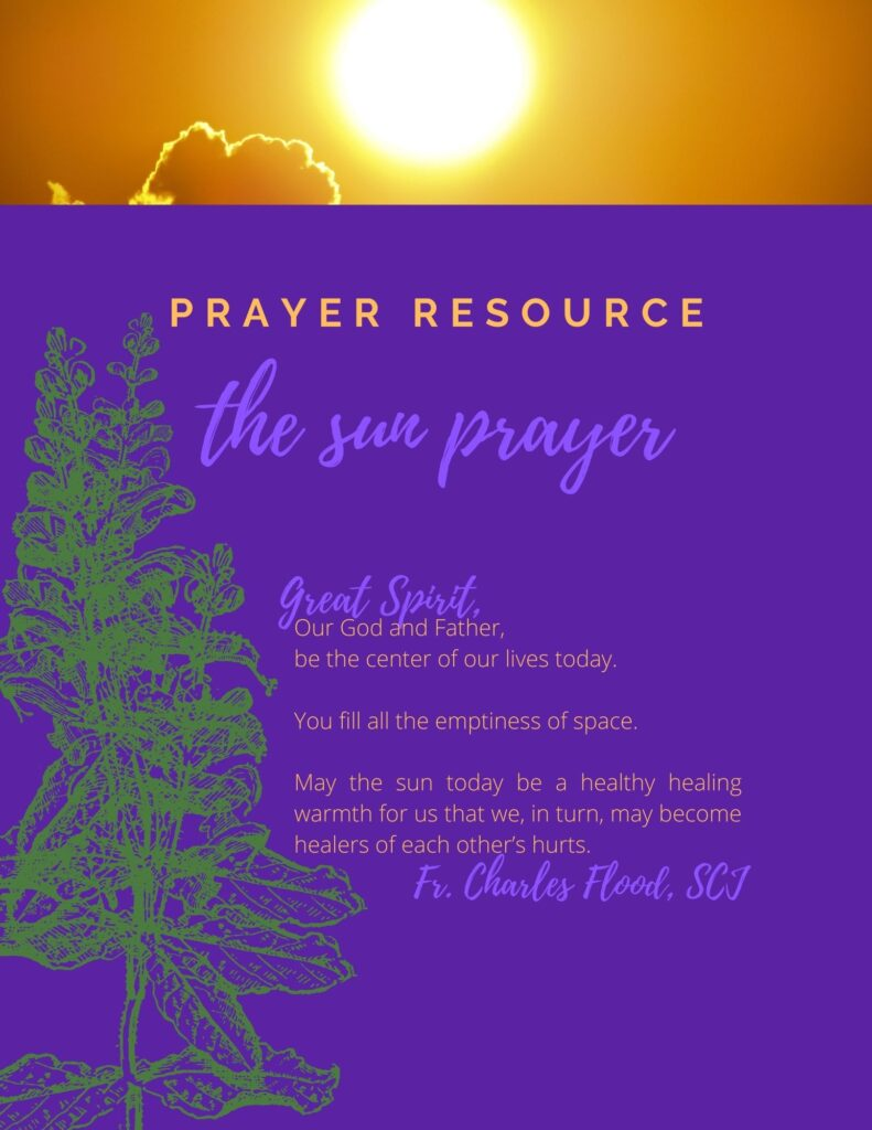 The Sun Prayer