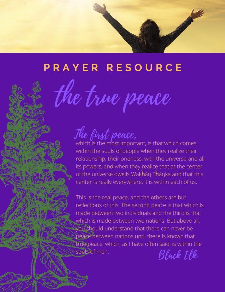 The True Peace